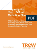 eBook Preparing for Your 12-Month Marketing Plan