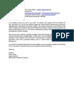 Legislative Request to Board of Governors (2)