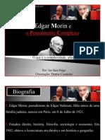 Slide Isa - Introdução ao Pensamento Complexo, Edgar Morin.