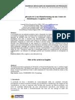 Artigo Combepro CDL