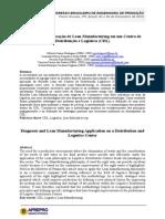 Artigo Diagnóstico e Aplicação de Lean Manufacturing Em Um Centro de Distribuição e Logística CDL