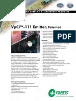 VpCi 111 Catalogo