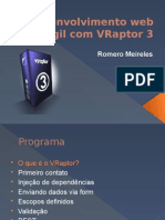 Palestra VRaptor 3