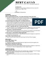 Resume (General)