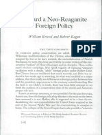 Toward Neo Reaganite Foreign Policy