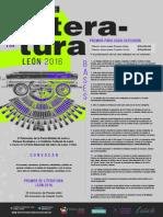 Convocatoria Premios de Literatura León 2016