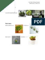 terrarium ideas - google docs