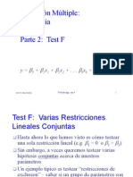 Regresion Multiple Inferencia Test F