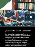 EPOCAS LITERARIAS