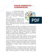 El Enfoque Semántico Comunicativo (1)