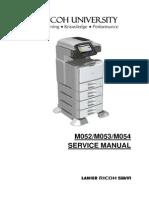 Ricoh 5200 SP Service manual
