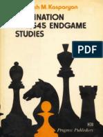 Genrikh M. Kasparian - Domination in 2545 Endgame Studies (New Scan)