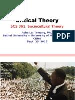 2015.09.25 Critical Theory, Tamang