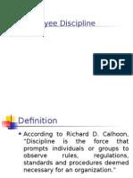Employee Discipline