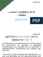 Control Estadistico DefinicionMedida