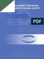 Regional Activity Icbss