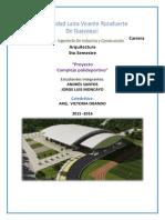 Andres Santos - Jorge Moncayo - Investigacion Polideportivo