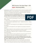 Ibps2014 Question Paper