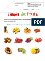 Ficha Da Salada de Fruta (Mat-Port Funcional)