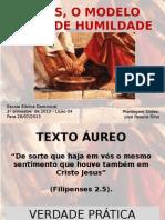 Jesusomodeloidealdehumildade Slide 130720161518 Phpapp01