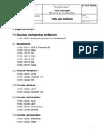 21 001-10200 Superstructure_table Des Matières_2014 V3.00