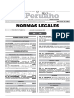 Normas Legales, jueves 12 de noviembre del 2015