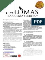 Palomas La Guerra Secreta Jdr