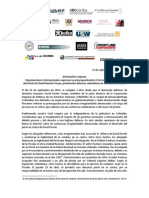 130913 Declaracion Conjunta David Ravelo FINAL