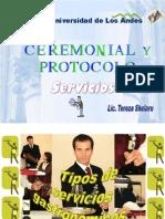 Tipos de Servicio en A y B