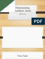 Minimizing Surface Area