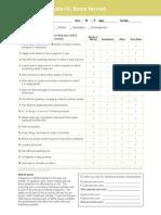 Child ADHD Rating Screener