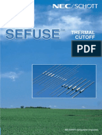 Thermo Cutoff Fuse catalog
