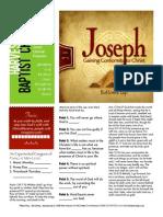 Joseph 7 Gen 39-1-5 Handout 111515