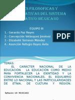 Bases Filosoficas Del Sist Educ Mex