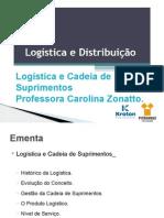 A1- Logística e Cadeia de Suprimentos
