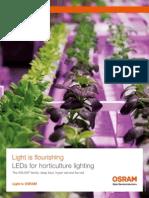 H2 - Leds Iluminacion de Horticultura - Catalogo de OSRAM