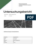 Unfalluntersuchungsbericht Berlin Hauptbahnhof