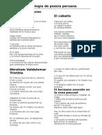 Antología de Poesía Peruana