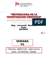 Metodologia de investigacion cientifica