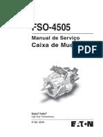 CAMBIO EATON FSO4505 Portugues