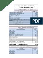 Diseño Bd en Excel