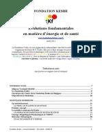 Fondation Keshe Evolutions Fondamentales en Matiere d Energie Et de Sante