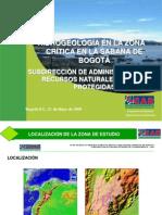 Hidrologia Sabana de Bogota