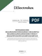 Manual Refrigerador RE28 RW34 RDE38