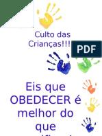 Culto Dia Das Crianças 2015