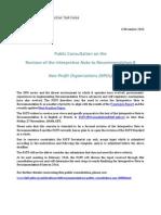 Public Consultation INR8 Template FINAL