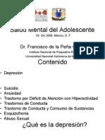Salud Mental Adolescente 2008 Prof Alumnos Prepa