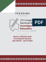 Comie Xiii-2015 Programa