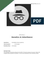 1. Genetics & Inheritance_ANSWER