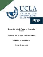 E-learning Carlos G.C.